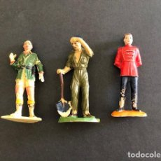Figuras de Goma y PVC: JECSAN - LOTE DE 3 FIGURAS DE GOMA - PVC - PLASTICO (JECSAN CIRCO - PRISIONEROS - SAFARI). Lote 250340185