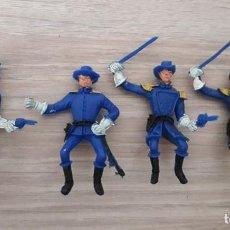 Figuras de Goma y PVC: LOTE 4 UNIONISTAS, YANQUIS. COMANSI, JECSAN ...... Lote 250349200