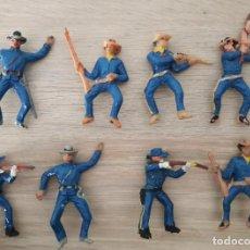 Figuras de Goma y PVC: LOTE 8 UNIONISTAS, YANQUIS .COMANSI, JECSAN ...... Lote 250349345