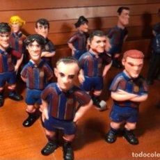 Figuras de Goma y PVC: JUGADORES DEL BARÇA 16 FIGURAS PERSONAJES DE 8,50 CM ALTURA ,. Lote 251234440