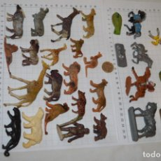 Figuras de Goma y PVC: CLAIRET, MOKAREX Y ELASTOLIN / ANTIGUO/VINTAGE - LOTE FIGURAS VARIADAS - ¡MIRA FOTOS Y DETALLES!. Lote 251235720
