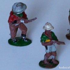 Figuras de Goma y PVC: COMANSI REAMSA JECSAN PECH BRUBER 3 FIGURAS DE GOMA LAFREDO AÑOS 50. Lote 251311830