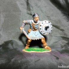Figuras de Goma y PVC: SOLDADO MEDIEVAL REAMSA EN PLASTICO SIN MARCAR. Lote 251344270