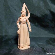Figuras de Goma y PVC: DAMA CASTILLO FEUDAL REAMSA EN PLASTICO. Lote 251345690