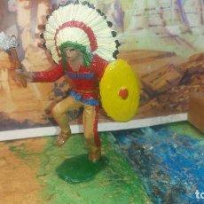 Figuras de Goma y PVC: INDIO GRANDE DE COMANSI. Lote 251513410