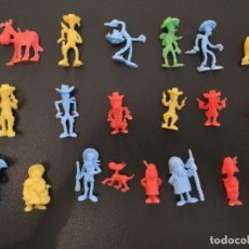 Figuras de Goma y PVC: LUCKY LUKE COLECCIÓN COMPLETA DUNKIN O FALSO DUNKIN UNICO COLECCIONISTAS.. Lote 251563375