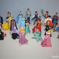Figuras de Goma y PVC: DISNEY 24 FIGURAS PERSONAJES CUENTOS BULLILAND. Lote 251652510