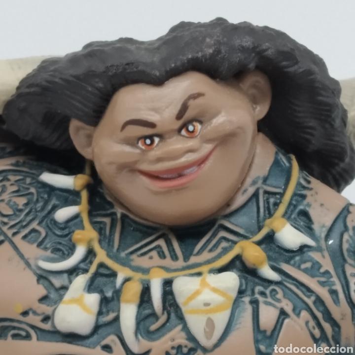 Figuras de Goma y PVC: Maui, personaje de Vaiana Moana, Disney - Foto 2 - 251740630