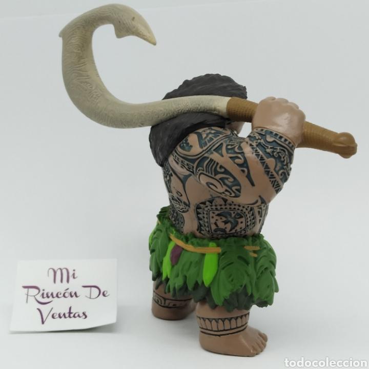 Figuras de Goma y PVC: Maui, personaje de Vaiana Moana, Disney - Foto 4 - 251740630
