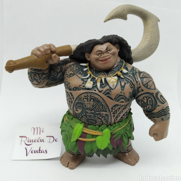 MAUI, PERSONAJE DE VAIANA MOANA, DISNEY (Juguetes - Figuras de Goma y Pvc - Bully)