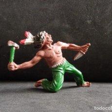 Figuras de Goma y PVC: LAFREDO INDIO GOMA. Lote 251792200