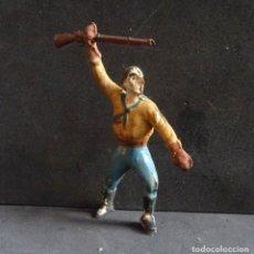 Figuras de Goma y PVC: ALCA CAPELL COWBOY GOMA. Lote 251796075