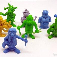 Figuras de Goma y PVC: LOTE FIGURAS DUNKIN SERIE ASTERIX OBELIX. Lote 251835100