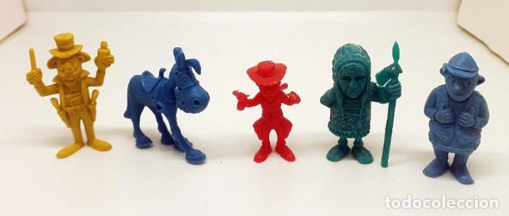 LOTE FIGURAS DUNKIN LUCKY LUKE (Juguetes - Figuras de Goma y Pvc - Dunkin)
