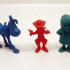 Figuras de Goma y PVC: LOTE FIGURAS DUNKIN LUCKY LUKE. Lote 251836745