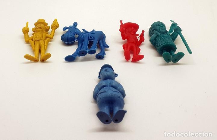 Figuras de Goma y PVC: LOTE FIGURAS DUNKIN LUCKY LUKE - Foto 3 - 251836745
