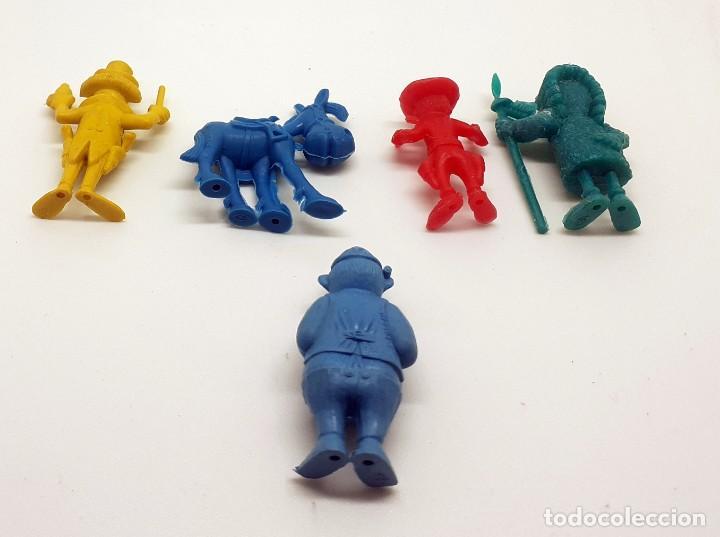 Figuras de Goma y PVC: LOTE FIGURAS DUNKIN LUCKY LUKE - Foto 4 - 251836745