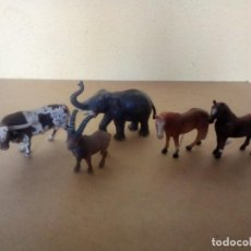 Figuras de Goma y PVC: LOTE ANIMALES SCHLEICH. Lote 251839005
