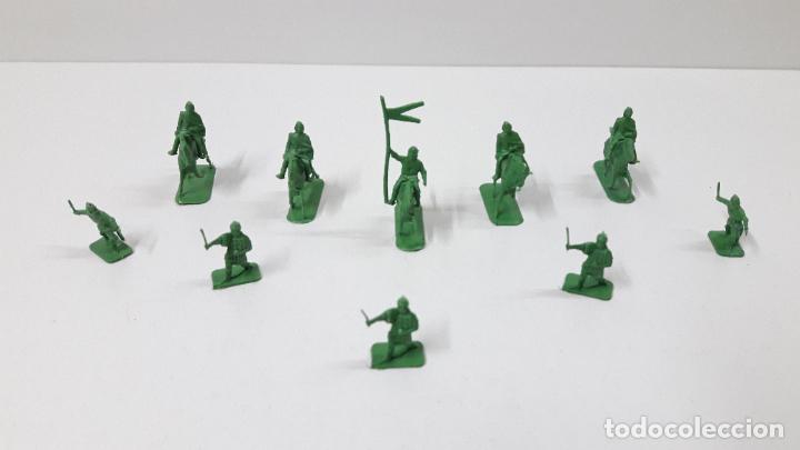 Figuras de Goma y PVC: LOTE DE SOLDADITOS MONTAPLEX - MEDIEVALES . ORIGINAL AÑOS 70 / 80 - Foto 2 - 251884270