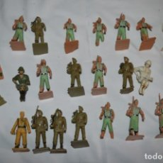 Figuras de Goma y PVC: LOTE CUERPOS/ARMAS SOLDADOS ESPAÑOLES / ANTIGUOS - PLÁSTICO / PVC - REAMSA / GOMARSA ¡MIRA! LOTE 08. Lote 251901760