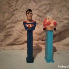 Dispensador Pez: DISPENSADOR PEZ DE CARAMELOS SUPERMAN Y OBELIX. Lote 152690194