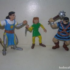Figuras de Goma y PVC: LOTE DE TRES FIGURAS...COMICS SPAIN.. Lote 251970120