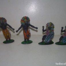 Figuras de Goma y PVC: CUATRO FIGURAS.. Lote 251970985