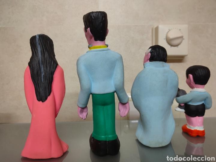 Figuras de Goma y PVC: 4X FIGURAS LATEX LA FAMILIA ADDAMS THE MUNSTERS. SILBATO.LAYA COMPLETA - Foto 2 - 252000370