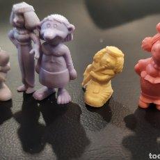 Figuras de Goma y PVC: LOTE DE 7 FIGURAS, DUNKIN, DUNKY. ASTÉRIX EGIPTO. DARGAUD.. Lote 223251031