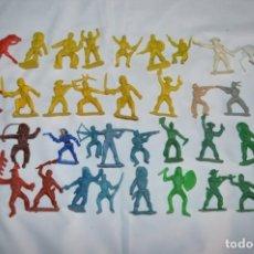 Figuras de Goma y PVC: EL OESTE - INDIOS Y VAQUEROS / PLÁSTICO/PVC - COMANSI, OLIVER, PUIG, PECH, JECSAN ... ¡MIRA! LOTE 04. Lote 252054180