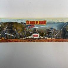 Figuras de Goma y PVC: SOLDADOS DEL MUNDO DE COMANSI. AMERICANOS. CON CAJA ORIGINAL. AÑOS 60. 2.. Lote 252105120