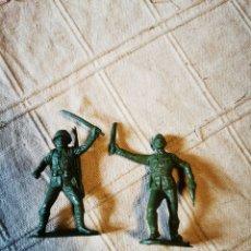 Figuras de Goma y PVC: SOLDADOS JECSAN. Lote 252127400