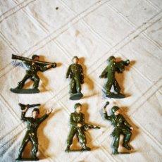 Figuras de Goma y PVC: LOTE SOLDADOS JECSAN PINTADOS. Lote 252134990
