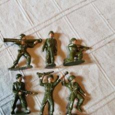 Figuras de Goma y PVC: LOTE SOLDADOS JECSAN PINTADOS. Lote 252136210