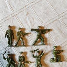 Figuras de Goma y PVC: LOTE SOLDADOS JECSAN PINTADOS. Lote 252136725