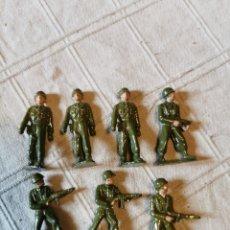 Figuras de Goma y PVC: LOTE SOLDADOS JECSAN PINTADOS. Lote 252137065