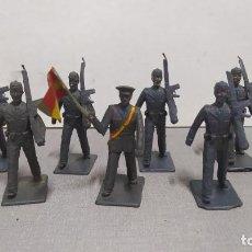 Figuras de Goma y PVC: DESFILE DE 9 SOLDADOS AVIACIÓN REAMSA.. Lote 252151795