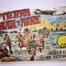 Figuras de Goma y PVC: SOBRE MONTAPLEX - SERJAN - TIERRA MAR Y AIRE - CERRADO. Lote 252168265