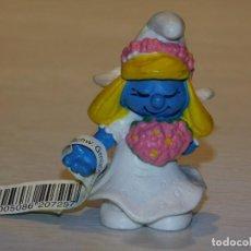 Figuras de Borracha e PVC: PITUFINA NOVIA. SCHLEICH 1991/ PEYO 4. Lote 252203070