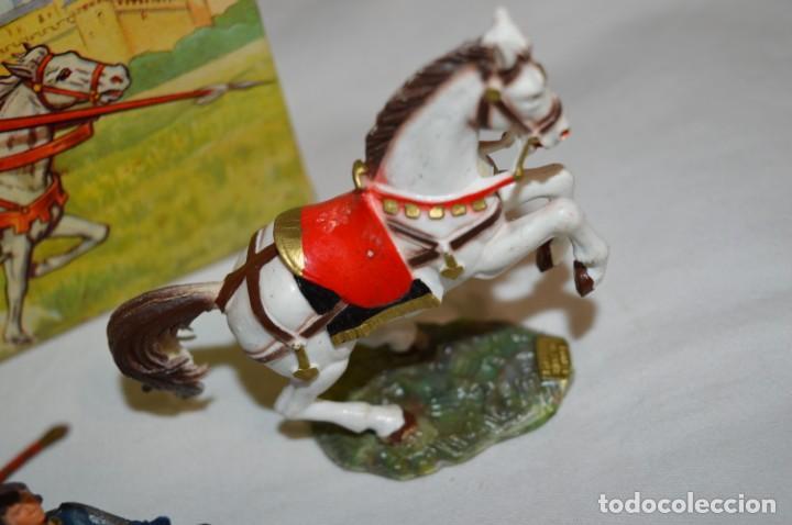 Figuras de Goma y PVC: Antiguo / CABALLO BLANCO / CHEVAL BLANC - STARLUX ANCIEN - Ref 6103 - Buen estado ¡Difícil, mira! - Foto 6 - 252305680
