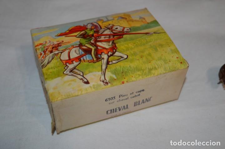 Figuras de Goma y PVC: Antiguo / CABALLO BLANCO / CHEVAL BLANC - STARLUX ANCIEN - Ref 6103 - Buen estado ¡Difícil, mira! - Foto 10 - 252305680
