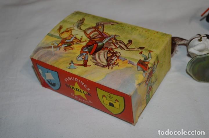 Figuras de Goma y PVC: Antiguo / CABALLO BLANCO / CHEVAL BLANC - STARLUX ANCIEN - Ref 6103 - Buen estado ¡Difícil, mira! - Foto 13 - 252305680