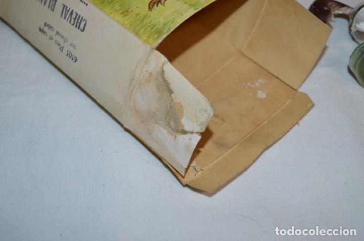 Figuras de Goma y PVC: Antiguo / CABALLO BLANCO / CHEVAL BLANC - STARLUX ANCIEN - Ref 6103 - Buen estado ¡Difícil, mira! - Foto 16 - 252305680