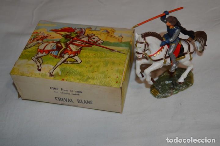 Figuras de Goma y PVC: Antiguo / CABALLO BLANCO / CHEVAL BLANC - STARLUX ANCIEN - Ref 6103 - Buen estado ¡Difícil, mira! - Foto 2 - 252305680