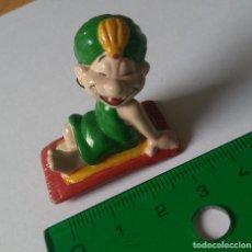 Figuras de Borracha e PVC: FIGURA PVC GOMA ESPECIE DE ALADDIN ALADINO TOPPER LAPIZ PVC GOMA MUÑECO MUÑEQUITO ALFOMBRA VOLADORA. Lote 252308390