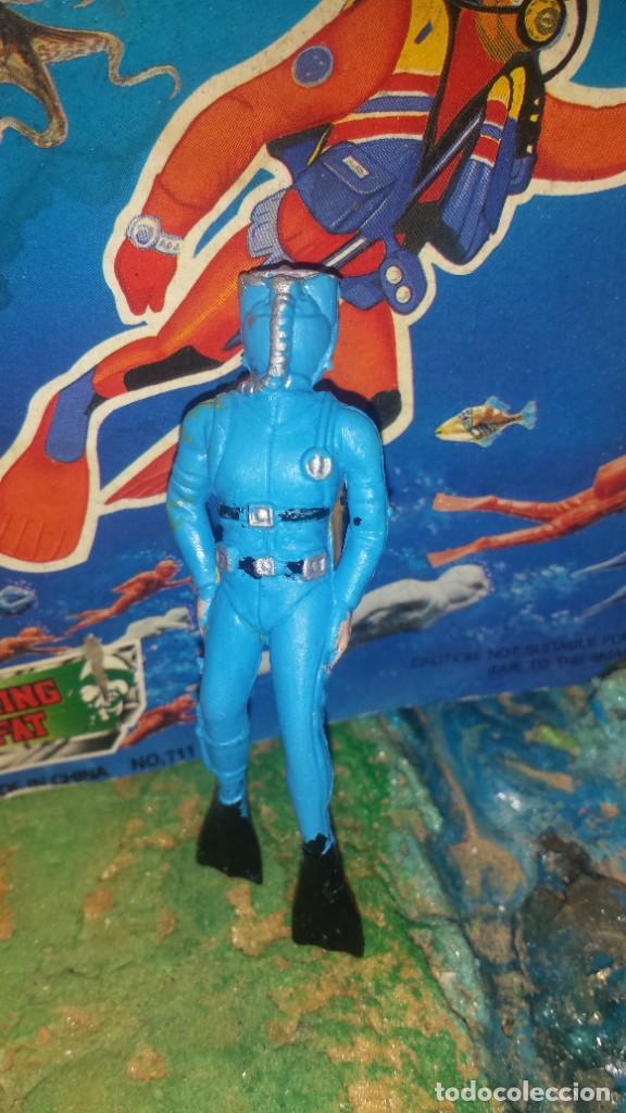 Figuras de Goma y PVC: Submarinista - Foto 3 - 252347920