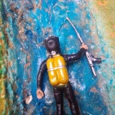 Figuras de Goma y PVC: SUBMARINISTA. Lote 252351415