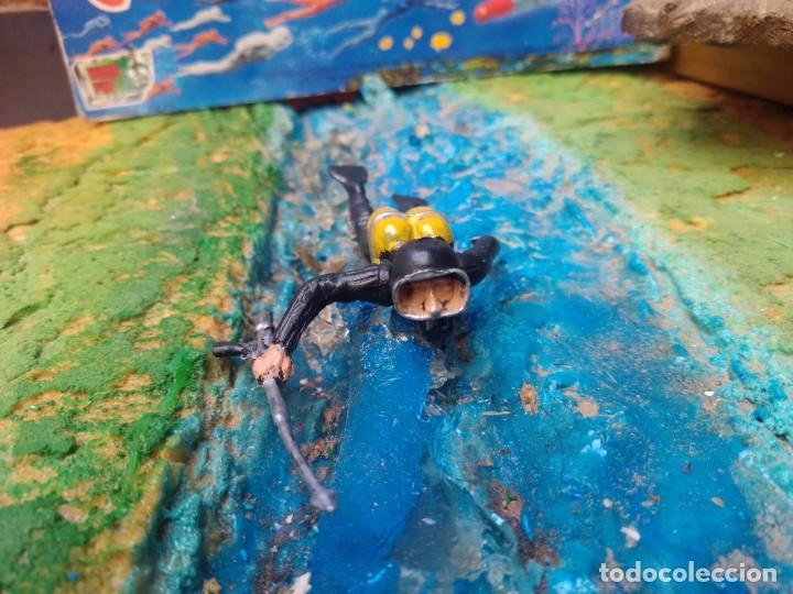 Figuras de Goma y PVC: Submarinista - Foto 3 - 252351415