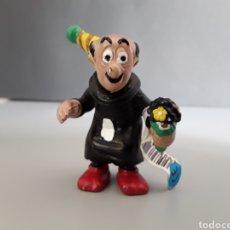 Figuras de Goma y PVC: FIGURA PVC GARGAMEL LOS PITUFOS SCHLEICH. Lote 252378475