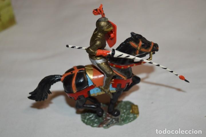 Figuras de Goma y PVC: Antiguo / CABALLO NEGRO / CHEVAL NOIR - STARLUX ANCIEN - Ref 6102 Bis - Buen estado ¡Difícil, mira! - Foto 3 - 252445210